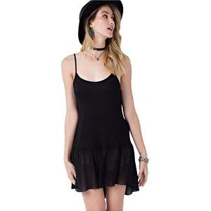 Easel Sleeveless Camisole and Tunic Extender-Black